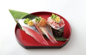 写真:旬さんま三楽皿